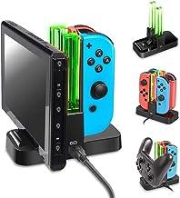 Nintendo Switch Joycon vePro controller şarj istasyonu joy-con dock