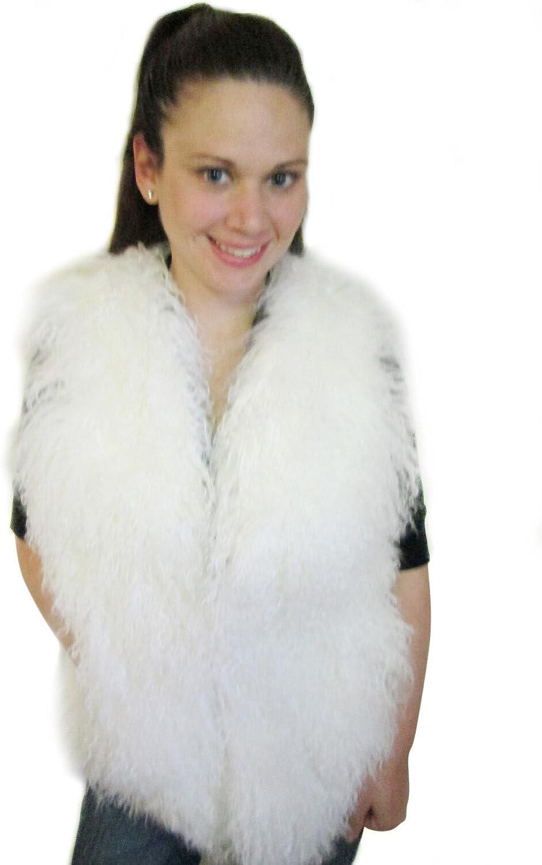 FursNewYork 25  Mongolian Lamb Full Skin Fur Vest