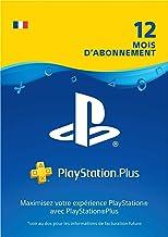 Sony PlayStation Plus, Carte d'abonnement de 12 mois, Code jeu à télécharger, Compte français