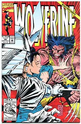 WOLVERINE #56, Silvestri, 1988, Gambit, Jubilee, NM/M