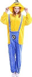 YAOMEI Adulte Kigurumi Combinaison Pyjama Onesies