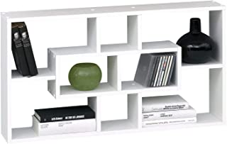SB-Design Lasse Estantería de Pared, Madera, Blanco, 85x16x47.5 cm