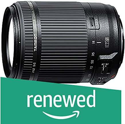 $139 » Tamron AF 18-200mm F/3.5-6.3 Di-II VC All-in-One Zoom for Canon APS-C Digital SLR (Renewed)