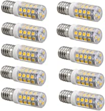 Led bulbs, E14 LED Bulb Lamp Light 4 Watt,350lm,40 Watt Replacement,360°Beam Angle,220-240V AC,Non Dimmable - Pack of 10 [...