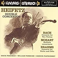 Heifetz, Double Concertos: Bach / Mozart / Brahms by Jascha Heifetz (2000-01-11)