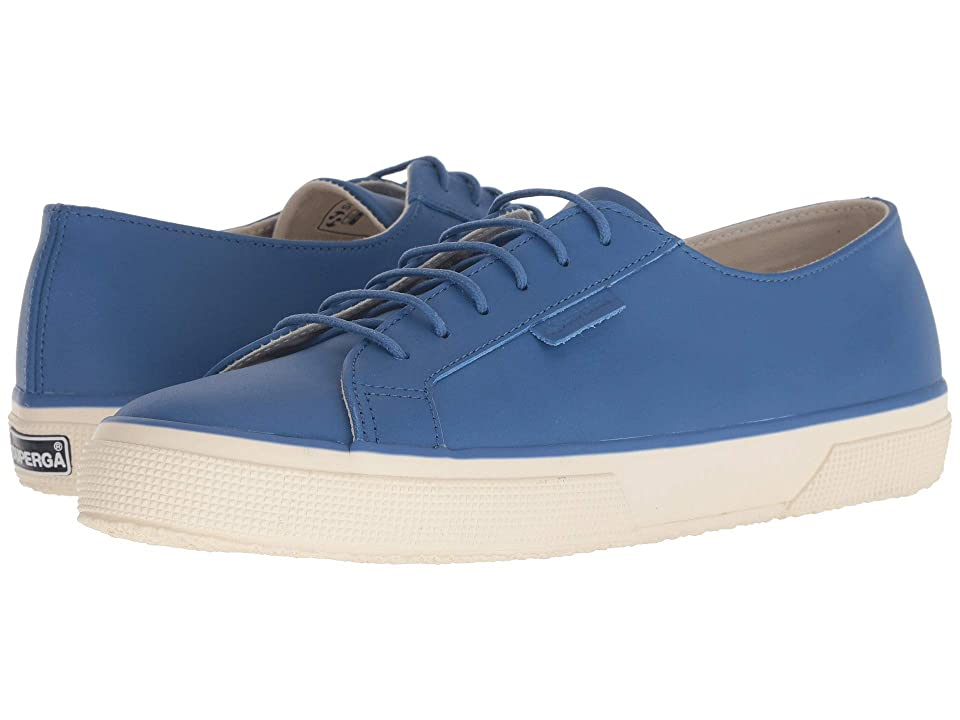 Superga 2750 Fgldyedm (Navy Leather) Men