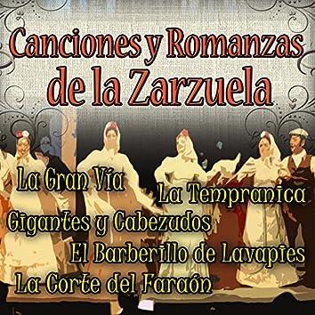Canciones y Romanzas de la Zarzuela