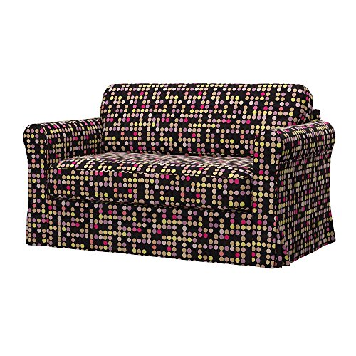 Soferia - IKEA HAGALUND Funda para sofá Cama, City Black