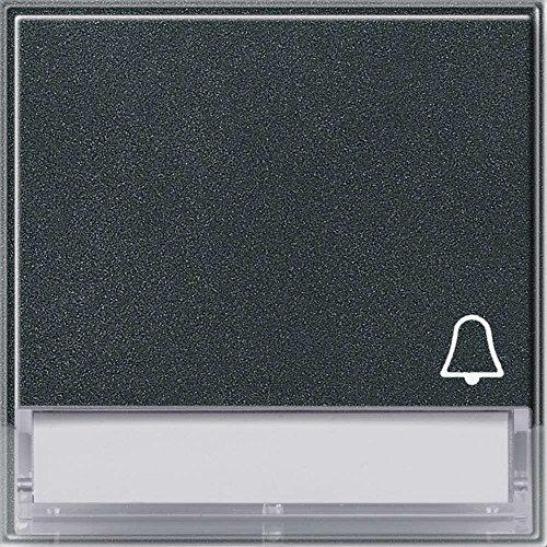 Gira 067367 Wippe Symbol Klingel Beschriftungsfeld Gira TX_44 (WG UP), anthrazit