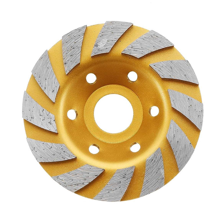 線形じゃない統計的Wchaoen 100x22.23mmのダイヤモンドは具体的な花こう岩を切るための刃の金の粉砕車輪を見ました ハードウェア部品