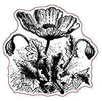FLOWER透明クリアシリコンスタンプ/DIYスクラップブッキング/フォトアルバム用シール装飾用クリアスタンプシートB048