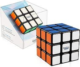 D-FantiX Rubik's Speed Cube 3x3, Gan RSC Rubiks Speed Cube 3x3x3 Magic Cube Puzzle Toy Black