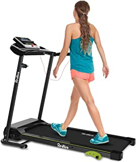 REDLIRO Folding Treadmill for Home Walking Machine Easy Assembly Exercise Fitness Motorized Incline Jogging Machine Perfect for Office