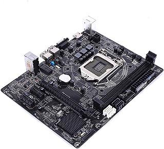 لوحة رئيسية للألعاب H81M Pro V24B الملونة مع فتحات ذاكرة DDR3 المزدوجة تدعم معالجات Intel LGA 1150