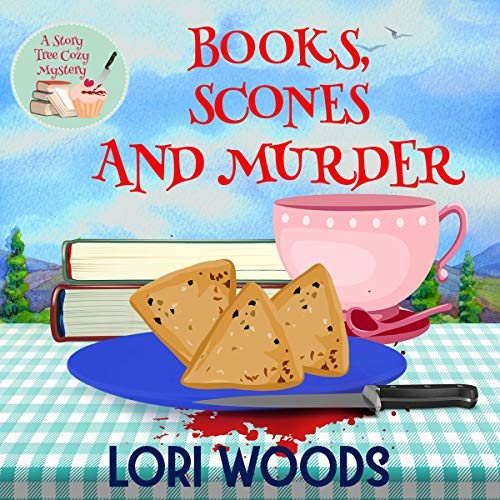 Books, Scones and Murder Audiobook By Lori Woods cover art