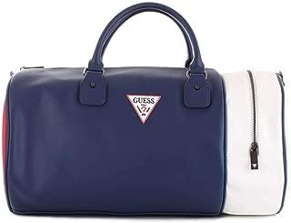 Luxury Fashion   Guess Mens TM6589POL91NAVY Blue Travel Bag   Spring Summer 19