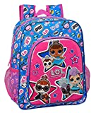 LOL Surprise Together Mochila Junior Niña Adaptable Carro, Multicolor