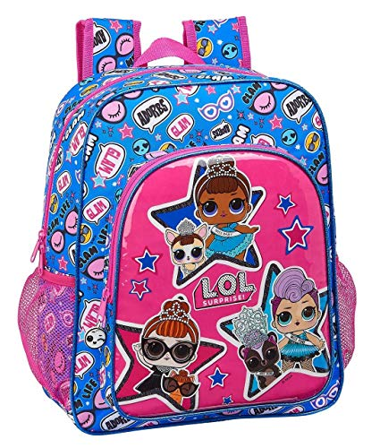 LOL Surprise Together Mochila Junior Niña Adaptable Carro  Multicolor