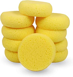 12Pcs of Synthetic Sponges, Round Watercolor Sponge for Artist Face Painting, Painting, Crafts, Pottery, Clay, Ceramics, Wall