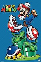 Pyramid America Super Mario Bros Mario Jump Nintendo Laminated Dry Erase Sign Poster 12x18