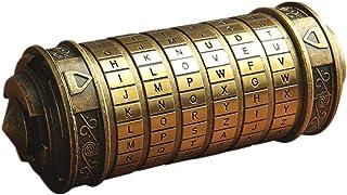 Da Vinci Code Mini Cryptex Valentine's Day Interesting Creative Romantic Birthday Gifts for Her?Bronze?