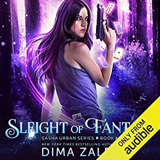 Page de couverture de Sleight of Fantasy