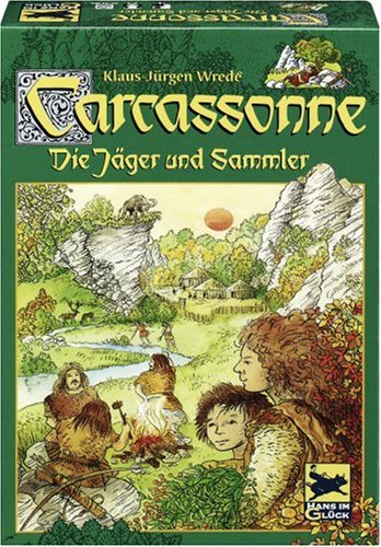 Schmidt Spiele 48134 - Carcassonne, Die Jäger & Sammler