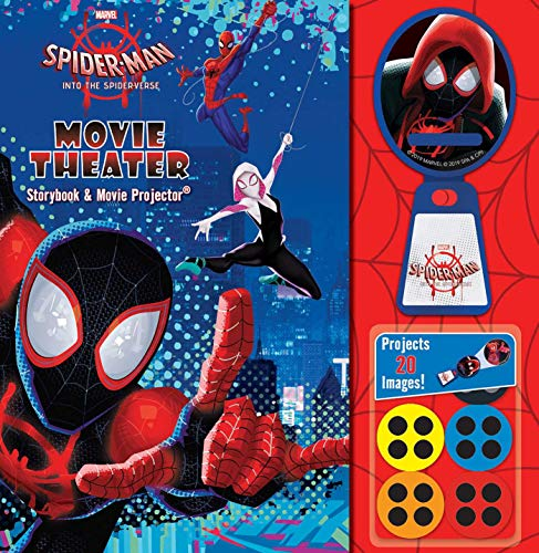 Marvel Spider-Man: Into the Spider-Verse Movie Theater Storybook