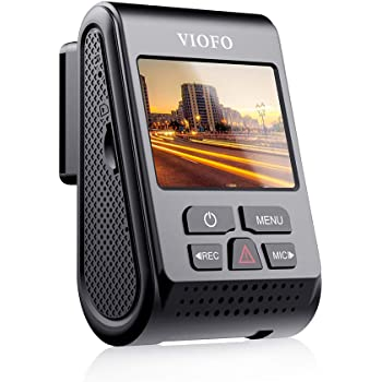 VIOFO A119 V3 2K Dash Cam 2560x1440P Quad HD+ Car Dash Camera, Ultra Clear Night Vision, 140-Degree Wide Angle, GPS Included, Buffered Parking Mode, True HDR, Motion Detection, G-Sensor, Time Lapse