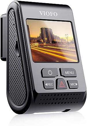 Unterst/ützung Blendschutz Polarisationsfilter Unterst/ützung drahtlose Bluetooth-Fernbedienung VIOFO A129 Duo Dash cam Zweikanal Autokamera Full HD 1080P Wi-Fi mit GPS mit 64 GB SD-Karte