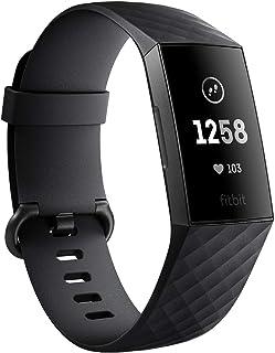 Fitbit FB410GMBK-CJK Charge 3 Graphite/Black, Graphite/Black