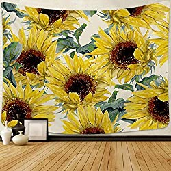 sunflower hippie tapestry