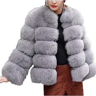 22098c5b2 Amazon.com: Silvers - Fur & Faux Fur / Coats, Jackets & Vests ...