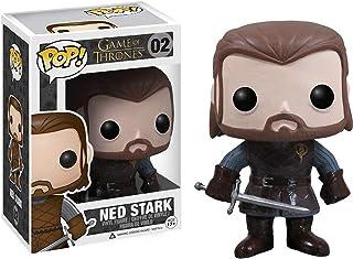 Funko Ned Stark: Game of Thrones x POP! Vinyl Figure & 1 PET Plastic Graphical Protector Bundle [#002 / 03016 - B]