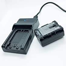 Battery Pack and USB Rapid Travel Charger For JVC Everio GZ-EX510BEU, GZ-EX515BEU, GZ-EX515BEK Full HD Memory Camcorder