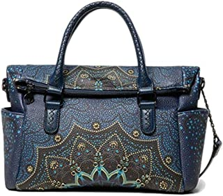 Luxury Fashion | Desigual Womens 19WAXP85BLUE Blue Handbag | Fall Winter 19
