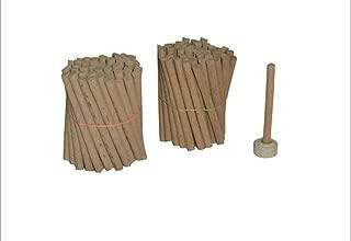 Divine Real Sandalwood   Sandalwood/Chandan Temptation Dhoop Incense 240gm (80 Sticks) Approx, with Holder