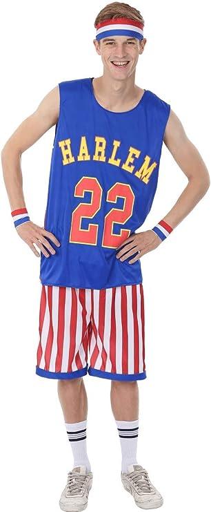 50 Men's Vintage Halloween Costume Ideas Orion Costumes Mens Harlem Globetrotters Basketball Sports Stag Fancy Dress Costume  AT vintagedancer.com