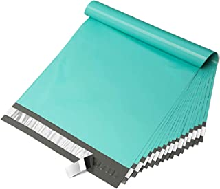 Fuxury 10x13 200pc Teal Poly Mailers Shipping Envelops Self Sealing Envelopes Boutique Custom Bags Enhanced Durability Mul...