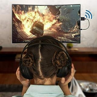 Socobeta Dispositivo Audio Stereo USB Bluetooth 2 in 1 trasmettitore Ricevitore per Tablet telefoni cellulari