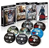 猿の惑星 トリロジーBOX (8枚組)[4K ULTRA HD+3D+2Dブルーレイ] [Blu-ray]