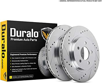 Front And Rear Brake Disc Rotors For BMW 525Xi 528Xi 530Xi 535Xi 535i XDrive