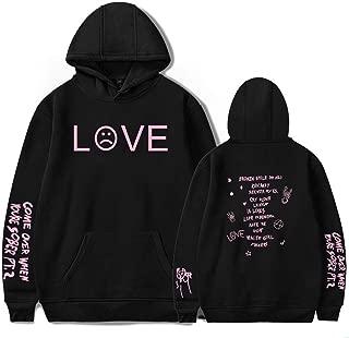 Lil Peep Falling Down Hell Boy Hoodies Sweatshirt Black White Multicolored 3D Print Colorful Cotton Unisex R.I.P Cry Baby 1