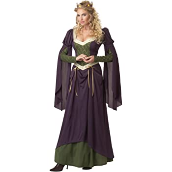 Ladies Small Lady in Waiting Medieval Renaissance Fancy Dress ...