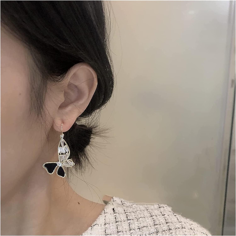 JIAW Earrings Earrings for Women French Gentle Butterfly Earrings Temperament Ear Hook Style Ear Studs Gifts for Women Girls Wife Mom