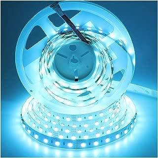LEDENET RGBW LED Strip 4 Colors in 1 SMD 5050 RGB & Cold White Flex Fairy String Light 5M 300LEDs 24 Volt Tape Lighting (RGBW)