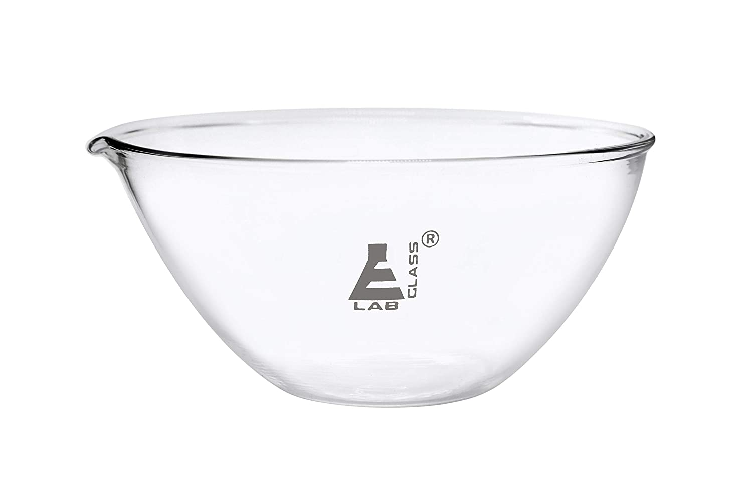 Evaporating Basin 1000ml - Flat with High material Borosilica Bottom Department store Spout
