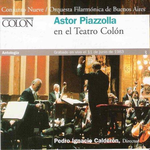 Astor Piazzolla en el Colón