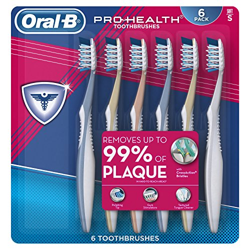 OralB Pro Health All In One Soft Toothbrushes 6 Count