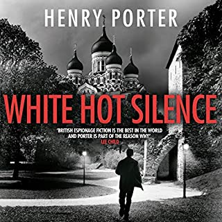 White Hot Silence audiobook cover art